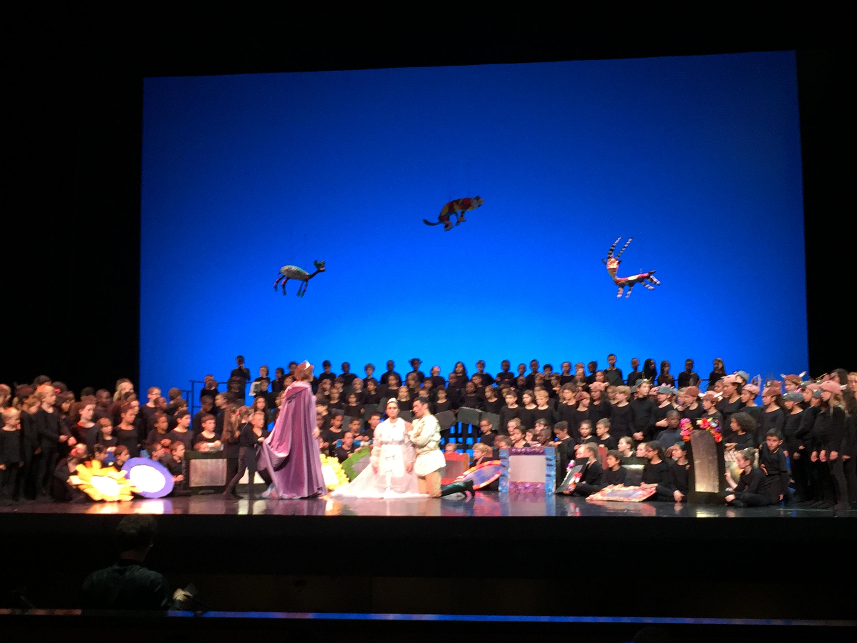 """opera de Massy -scène de """"La Princesse Maritorne"""""""